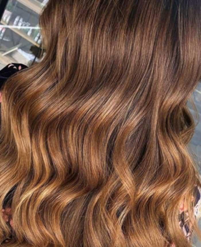 honey brown hair color trend