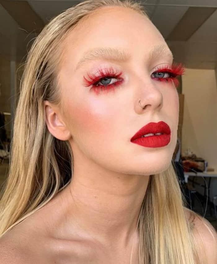 monochromatic makeup looks