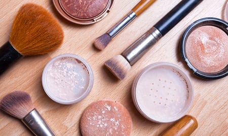 the-cost-of-cheap-makeup-viva-glam-makeup-on-a-table-spread-out