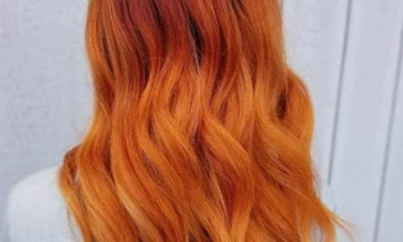 Burnt Orange Hair Color Trend