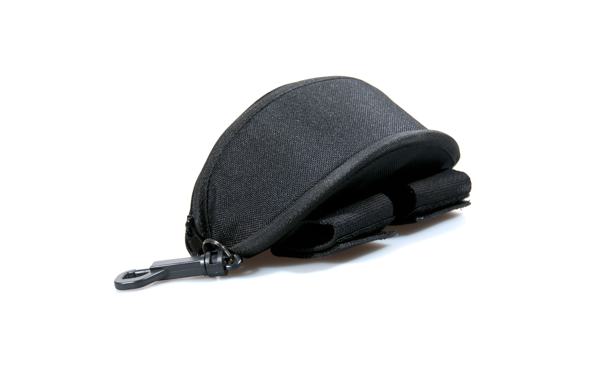 Black Zipper Top Case