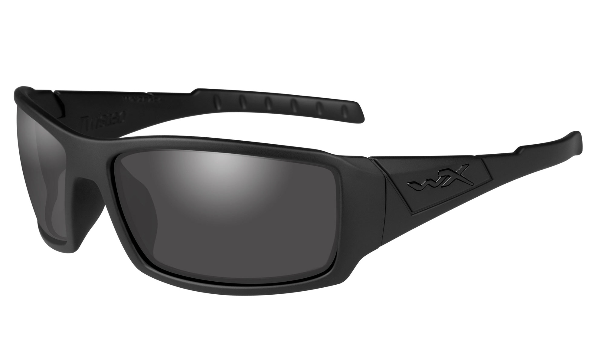1a9a938fc6558 Wiley-X WX Twisted Matte Black with Polarized Smoke Grey Lenses ...