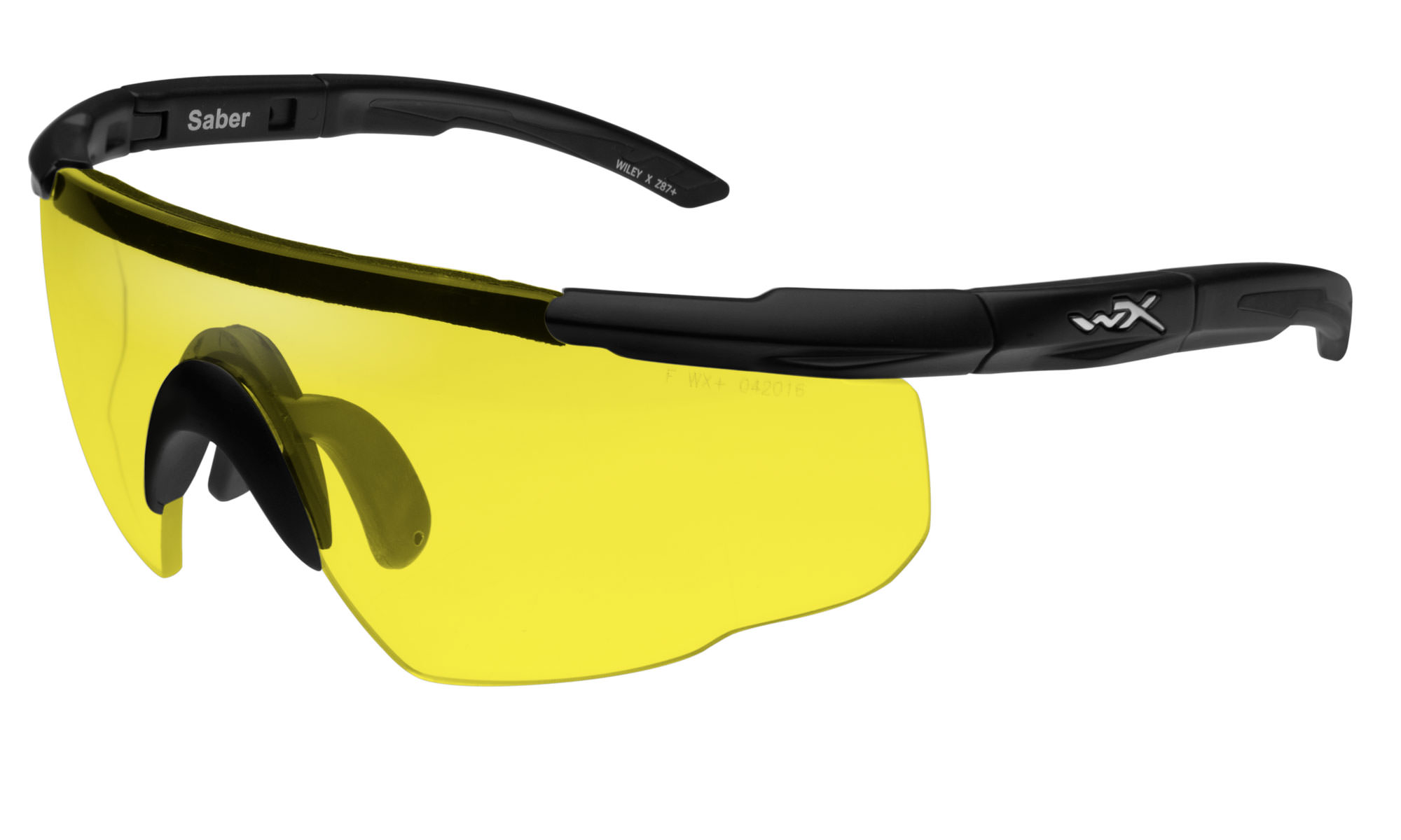 26ff6fa60e78 Wiley-X Saber Advanced Matte Black with Pale Yellow Lenses | Wiley X
