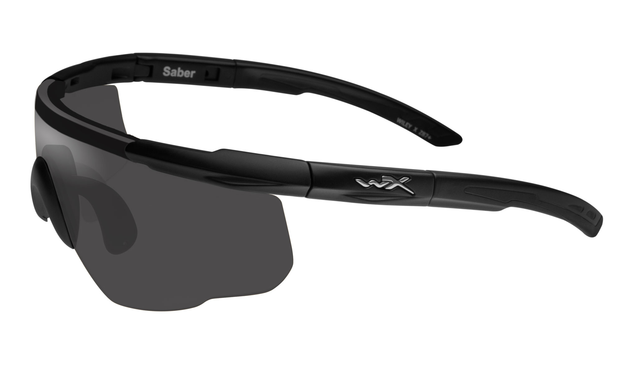 6416c4a0b1aaa Wiley-X Saber Advanced Matte Black with Smoke Grey Lenses