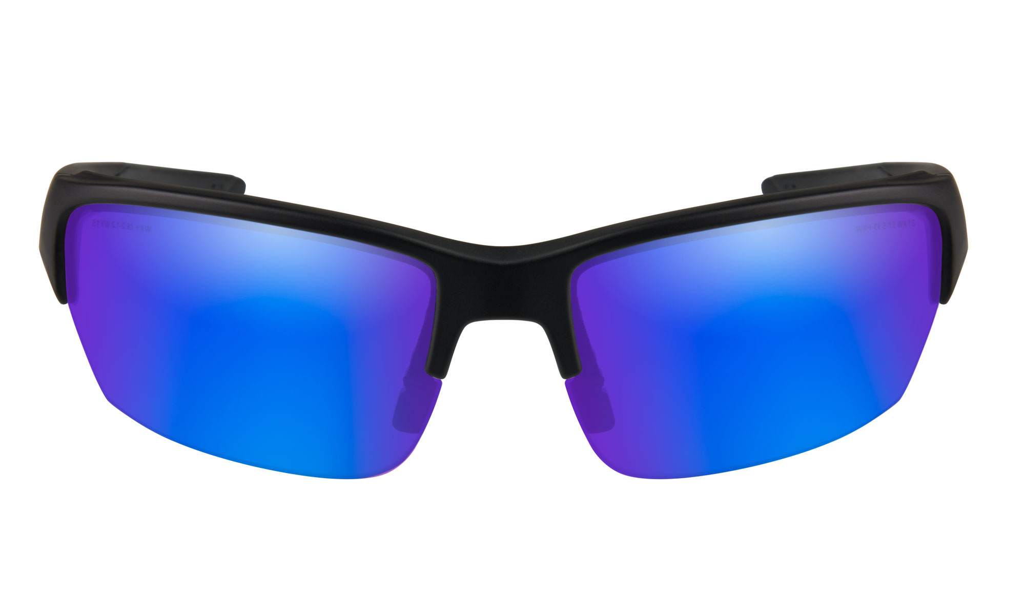 cdfb85d97609 Wiley-X WX Saint Matte Black with Polarized Blue Mirror Lenses