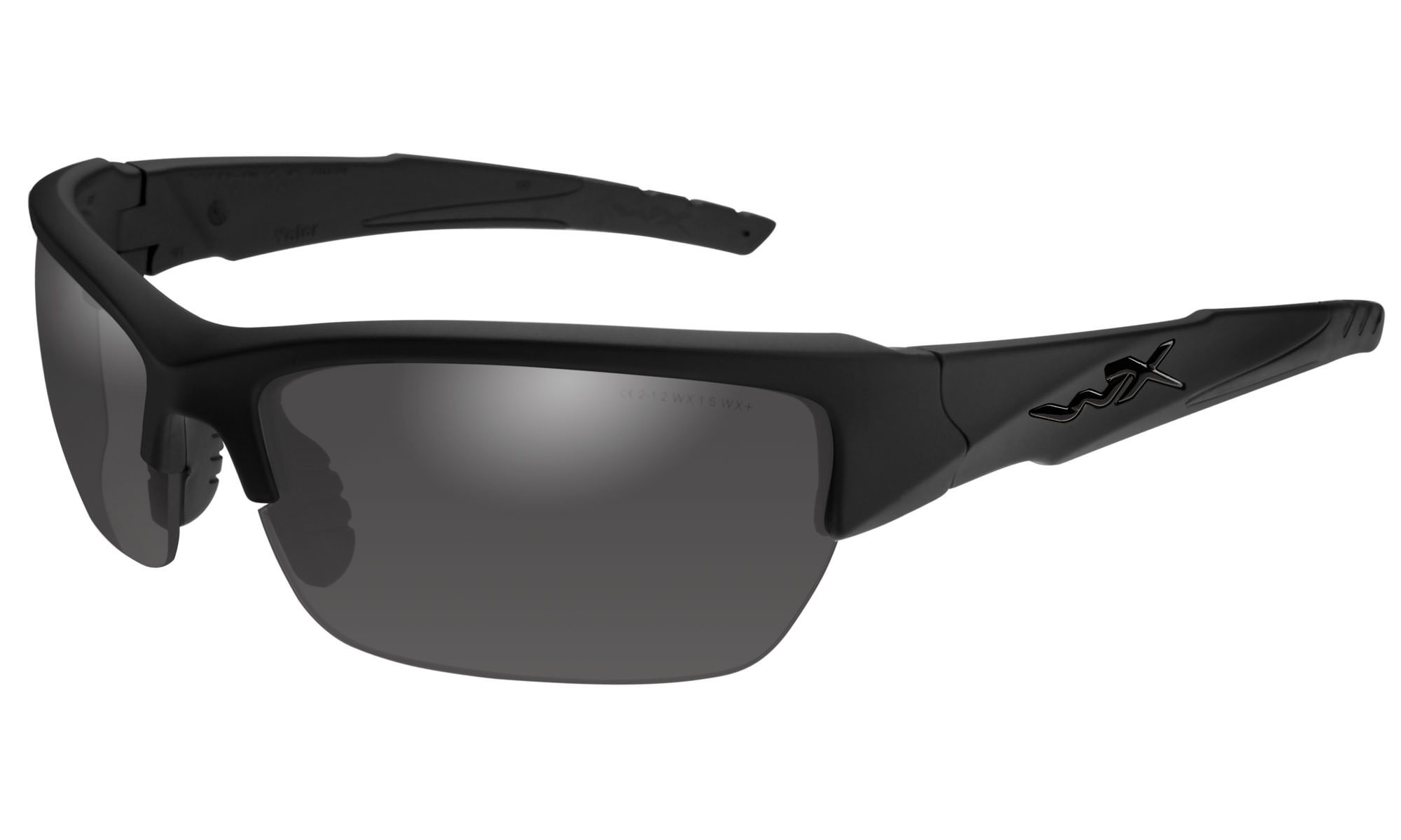 606204abc1a7 Wiley-X WX Valor Matte Black with Smoke Grey Lenses | Wiley X
