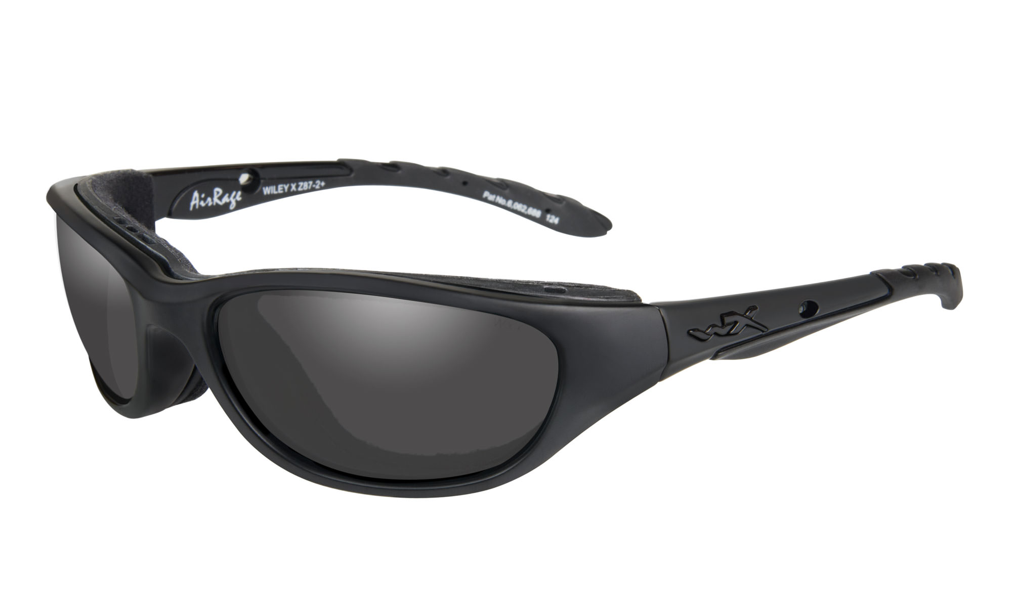 1d976a7a2d7b Wiley-X Airrage Matte Black with Smoke Grey Lenses | Wiley X