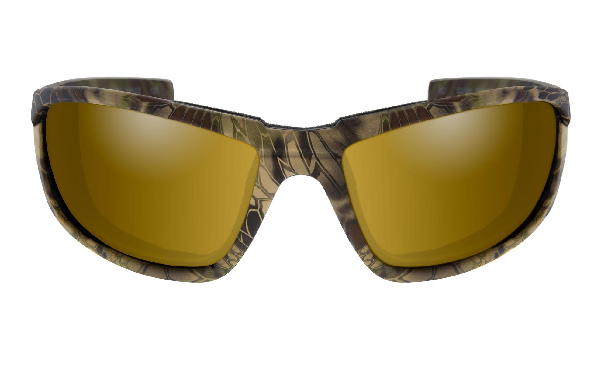 ba79083c1 Wiley-X WX Boss Kryptek® Highlander™ with Polarized Venice Gold ...