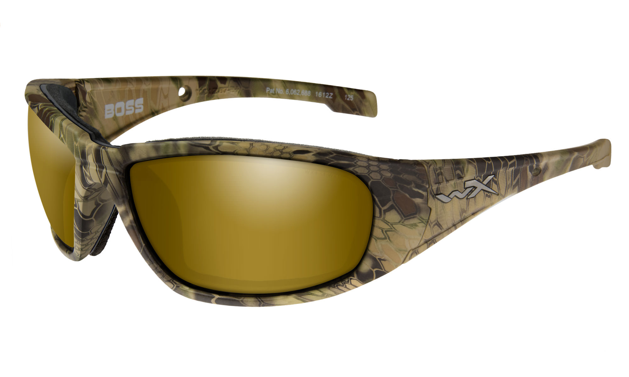 the best attitude 8a8fc 76e67 Wiley-X WX Boss Kryptek® Highlander™ with Polarized Venice Gold ...