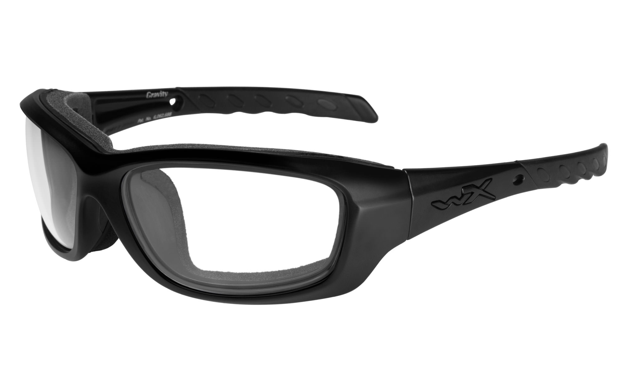 0b6d8a851973 Wiley-X WX Gravity Matte Black with Clear Lenses | Wiley X