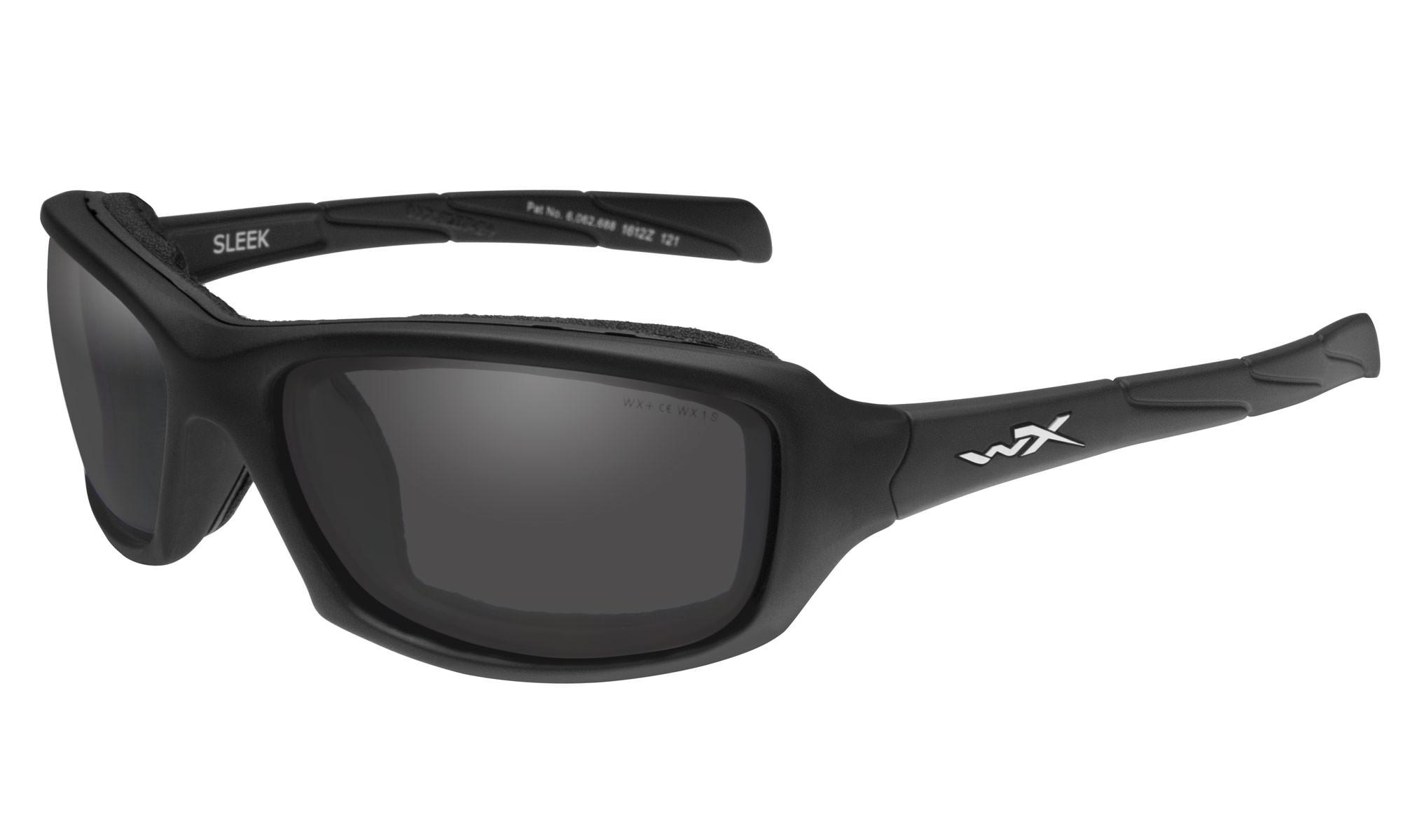 e2d3092e60 Wiley-X WX Sleek Matte Black with Smoke Grey Lenses