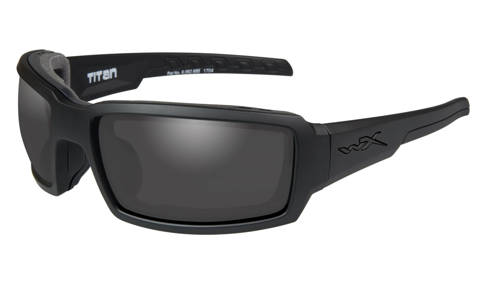3eb85e07e1b4 Wiley-X WX Titan Matte Black with Smoke Grey Lenses | Wiley X