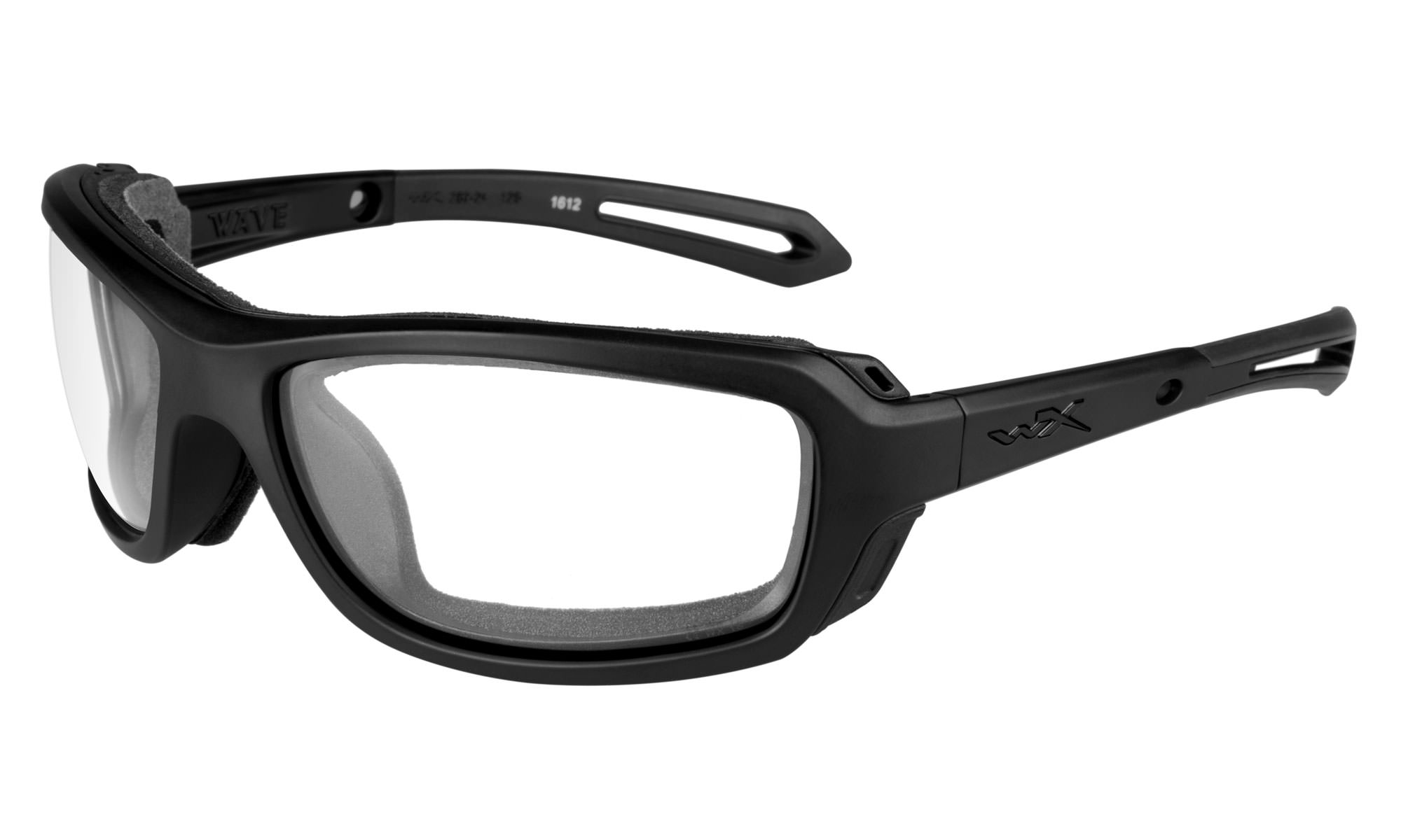 0e610a5dd5fa Wiley-X WX Wave Matte Black with Clear Lenses | Wiley X