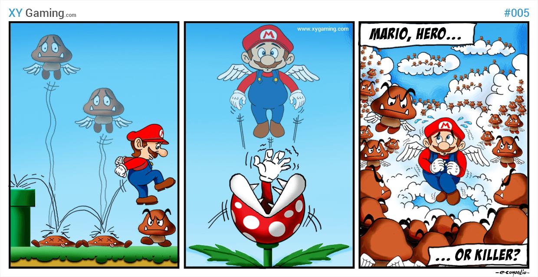 Mario... Hero or Killer?