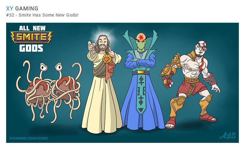 New Smite Gods