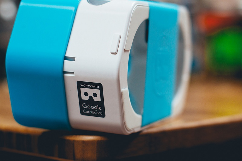 A plastic edition of Google Cardboard