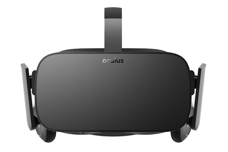 A picture of the consumer ready version of the Oculus Rift VR Headset