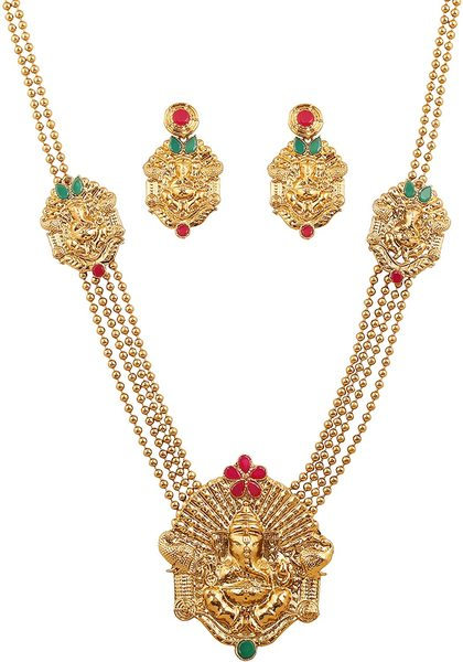 Temple Jewelry Necklace Set
