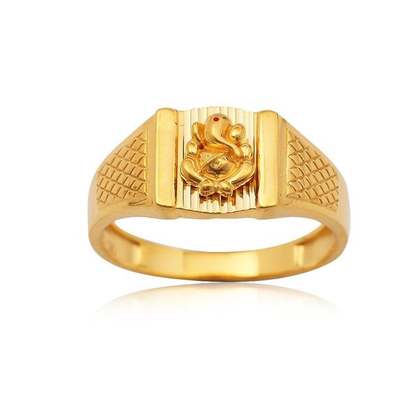 ELEGANT GOLD RING FOR MEN