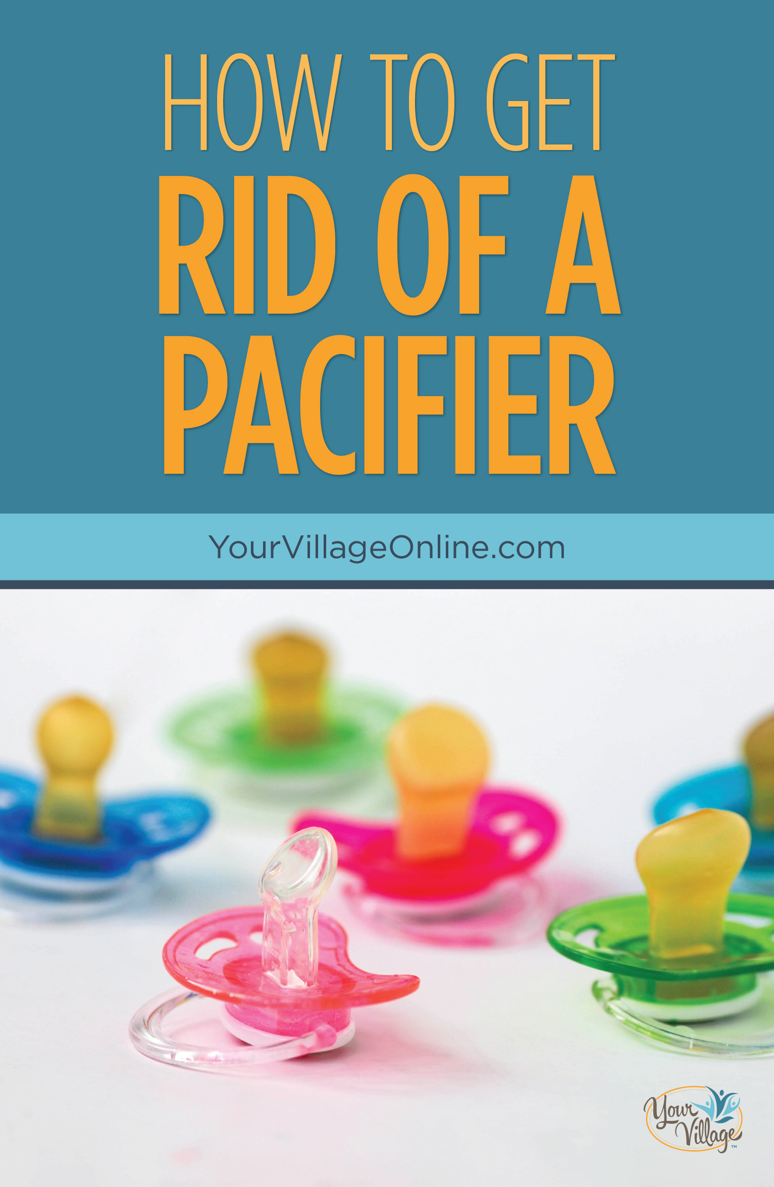 How to Get Rid of a Pacifier from a 3 year old