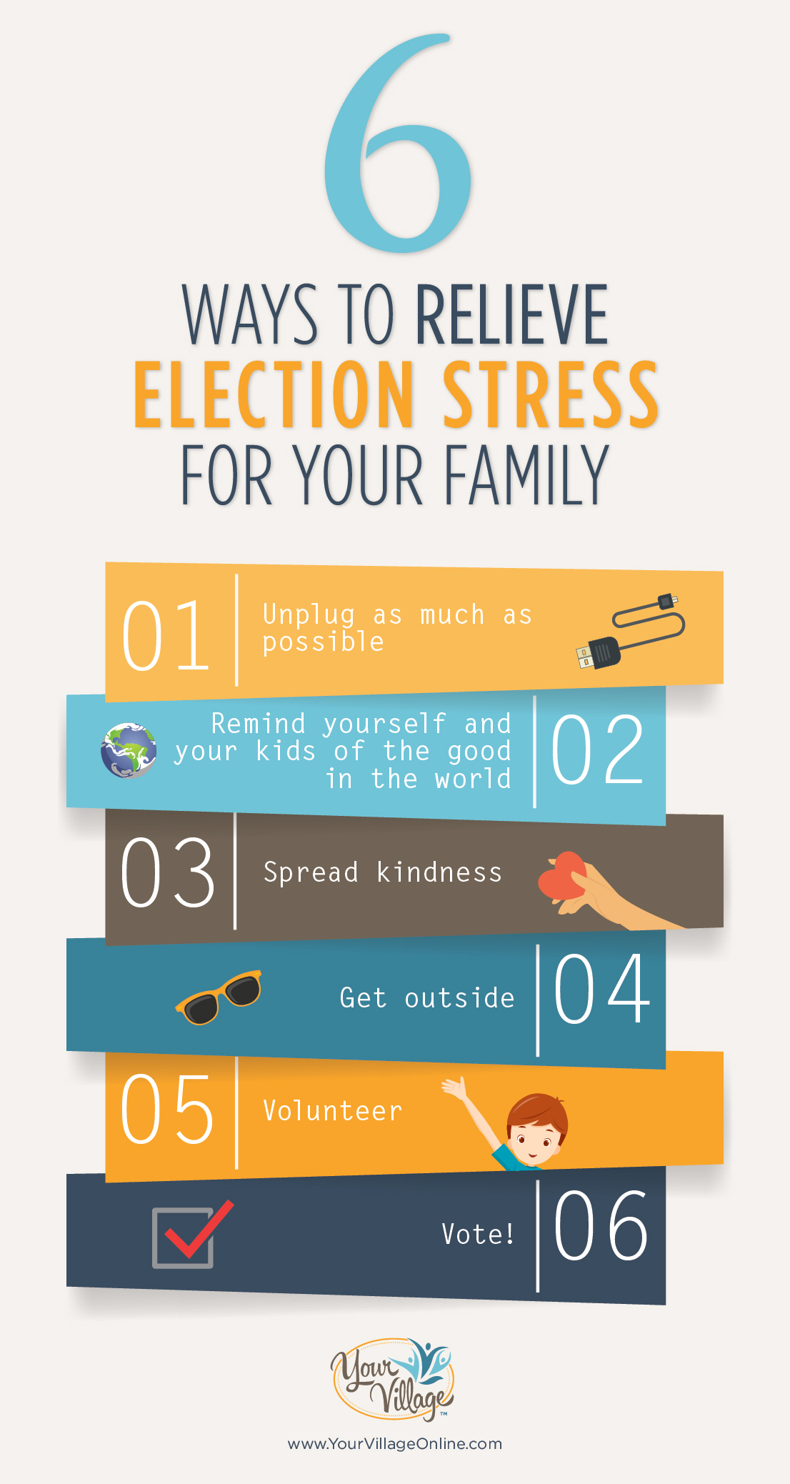 6 ways to help kids with election stress