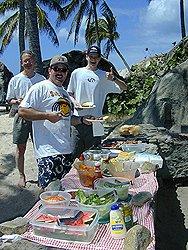Cuan Law Beach BBQ