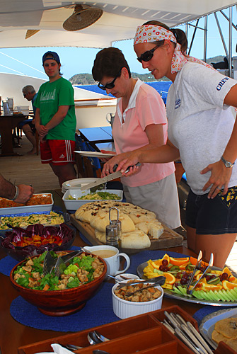 Dining Aboard Cuan Law