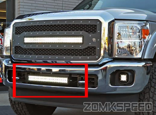 For 11 15 F250 F350 F450 21 5 Quot 120w Cree Led Light Bar