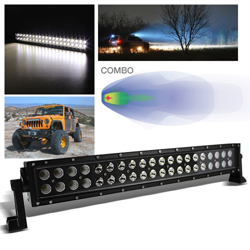 120w 215 cree led outdooroff road spotflood light bar rally 120w 215 cree led outdooroff road spotflood light bar rallyrescuework lamp aloadofball Choice Image