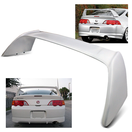 For 2002-2006 Acura RSX DC5 White Fiber Glass Type-R Style