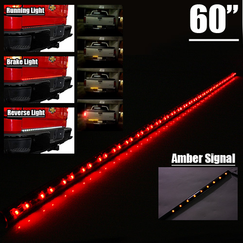60 inch 6 function led tailgate light bar runningbrakescanning image is loading 60 034 inch 6 function led tailgate light aloadofball Choice Image